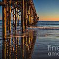The Pier At Goleta Beach by Mitch Shindelbower