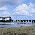 The Pier At Hanalei by John Greaves