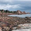 The Pink Granite Coast Brittany by Ann Garrett