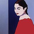 The Pink Shawl by Gerard Bianco