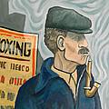 The Pipe Smoker by Robert Holewinski