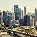 The Pittsburgh Skyline by Lisa Russo