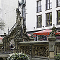 The Pixie Fountain Cologne Germany by Teresa Mucha