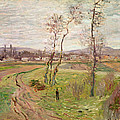 The Plain At Gennevilliers by Claude Monet