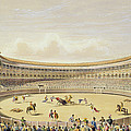 The Plaza De Toros Of Madrid, 1865 by William Henry Lake Price