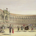The Plaza Of Seville, 1865 by William Henry Lake Price