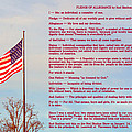 The Pledge by Darrell Clakley