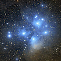 The Pleiades Open Star Cluster by Lorand Fenyes