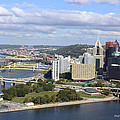 The Point At Pittsburgh by Pat McGrath Avery