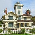 The Point Fermin Lighthouse by Donna Greene