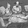 The Poker Game by H James Hoff