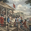 The Polling, Illustration From Hogarth by William Hogarth