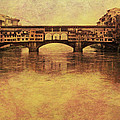 The Ponte Vecchio In Florence Italy by Greg Matchick