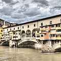 The Ponte Vecchio In Florence by Marc Garrido