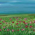 The Poppy Field by Suzette Schutze