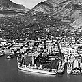 The Port Of Honolulu by Underwood Archives