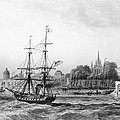 The Port Of New Orleans by Charles de Lalaisse