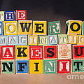 The Power Of Imagination Makes Us Infinite by Art Whitton