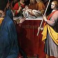 The Presentation In The Temple by Camillo Procaccini