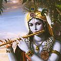 The Primordial Flute Player by Vishnudas Art