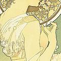 The Primrose by Alphonse Marie Mucha
