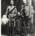 The Prince Of Wales And Prince George Of Wales by German School
