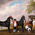The Prince Of Wales Phaeton by George Stubbs