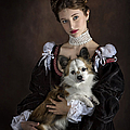 The Princess And Her Dog by Endre Balogh