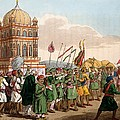 The Procession Of The Taziya, From The by Deen Alee