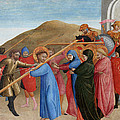 The Procession To Calvary by Sassetta