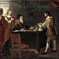The Prodigal Son Receiving His Portion Of The Inheritance by Bartolome Esteban Murillo