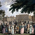 The Promenade In St James Park, C.1796 by Edward Days