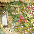 The Puppy by Arthur Claude Strachan