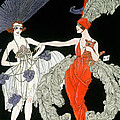 The Purchase  by Georges Barbier