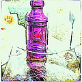 The Purple Medicine Bottle by Kathy Barney