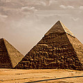 The Pyramids Of Giza by Anthony Doudt
