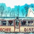 The Quechee Diner Vermont by Edward Fielding