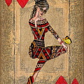 The Queen Of Hearts by Terry Fleckney