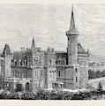 The Queens Residence In Italy Villa Clara Lago Maggiore 1879 by Italian School