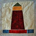 The Quilt Work Of Chambers Island Lighthouse  by Carol Toepke
