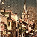 The Quintessential Semiquincentennial - Shepherdstown Wv  by Julia Springer