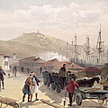 The Railway At Balaklava, Plate by William 'Crimea' Simpson