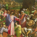 The Raising Of Lazarus, C.1517-19 Oil On Canvas Transferred From Wood by Sebastiano del Piombo