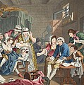 The Rake In Prison, Plate Vii, From A by William Hogarth