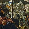 The Rape Of Helen by Tintoretto