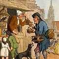 The Rat Trap Seller From Cries by Thomas Rowlandson