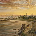 The Ravee River, From India Ancient by William 'Crimea' Simpson