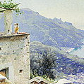 The Ravello Coastline by Peder Monsted