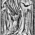 The Raven Nevermore Illustration Engraving by