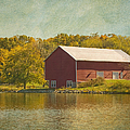 The Red Barn by Kim Hojnacki